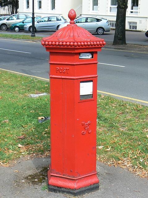 Penfold Victorian pillar box, Bayshill Road, Cheltenham
