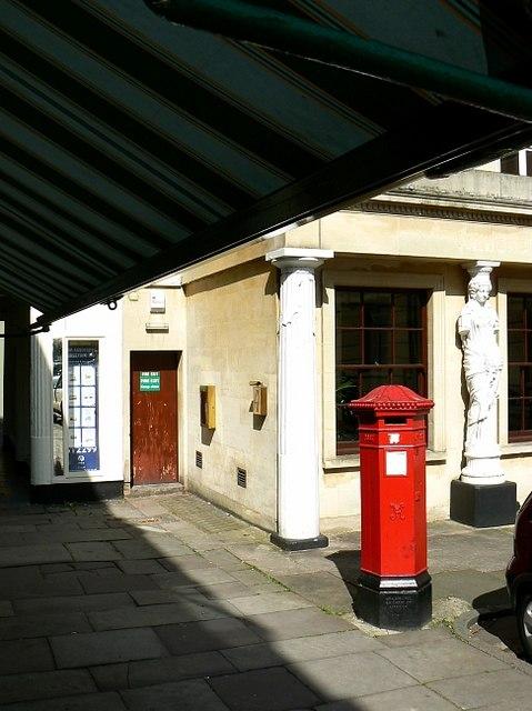 Penfold Victorian pillar box, Montpellier Walk, Cheltenham