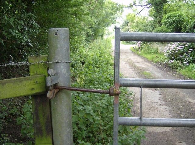 Entrance to Upper Appleford Farm