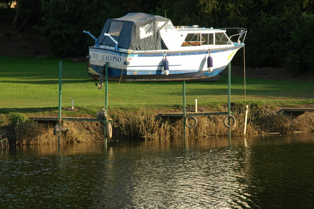 Flying boat, Bredon Dock