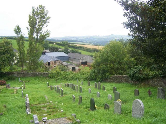 View From Cornworthy Churchyard