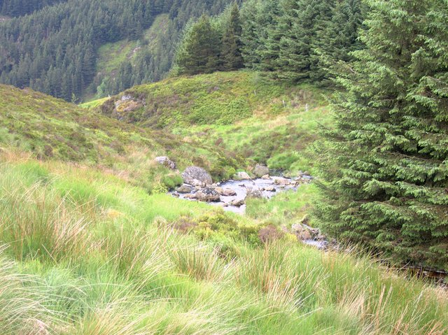 Rhuddnant gorge