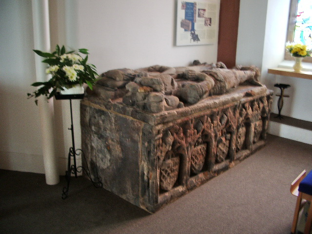Table tomb, St Michael's Church, Workington