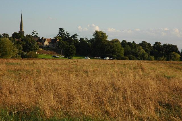 Bredon Church and Twyning Meadow