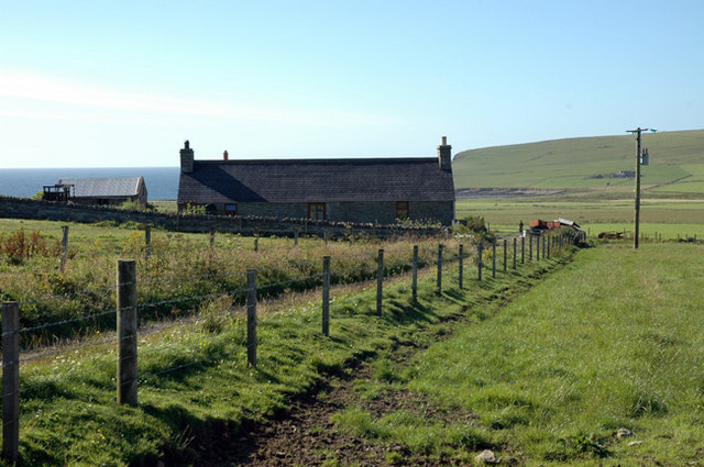 Small farm on Howe road in Marwick