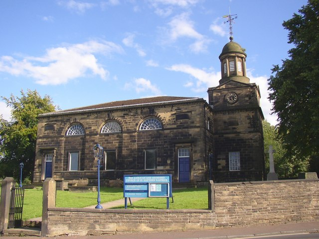 Anglican and Methodist Church of St Matthew, Rastrick