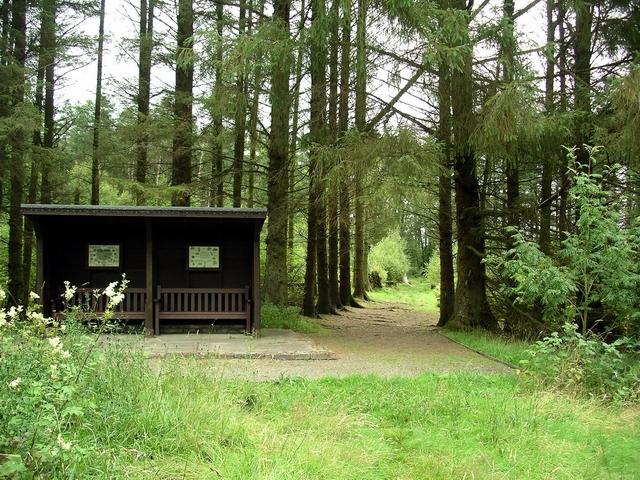 Shelter, Eskrigg nature reserve