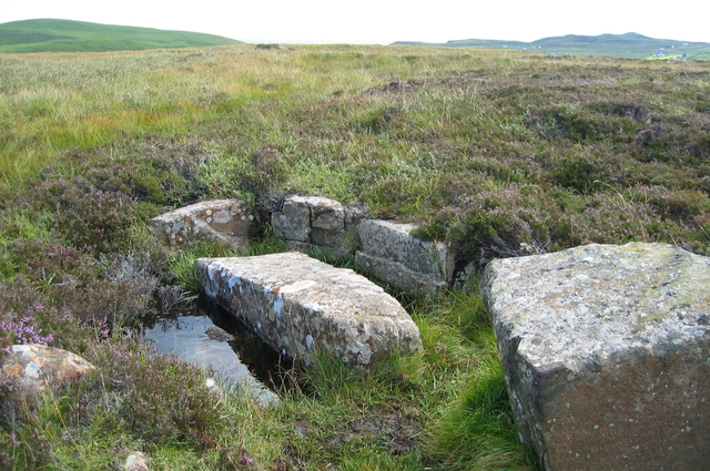 Arrangement of stones