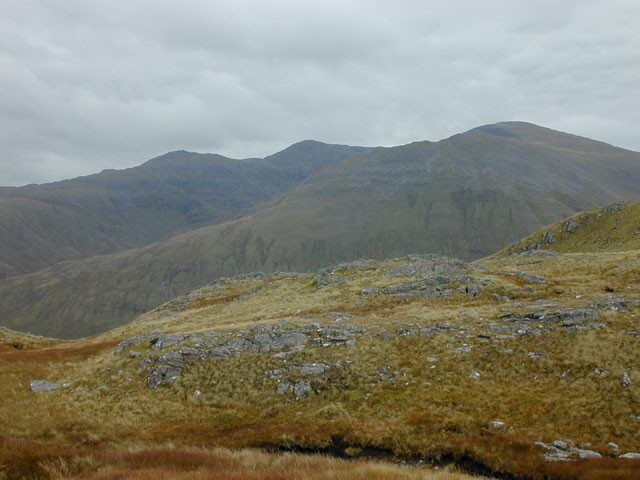 South of Meall Dubh