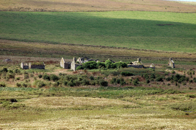 The old house of Durkadale, Birsay