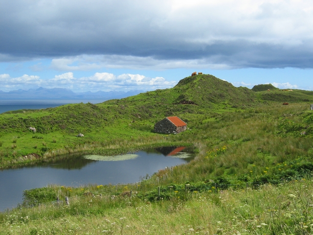 Lochan near Flodigarry