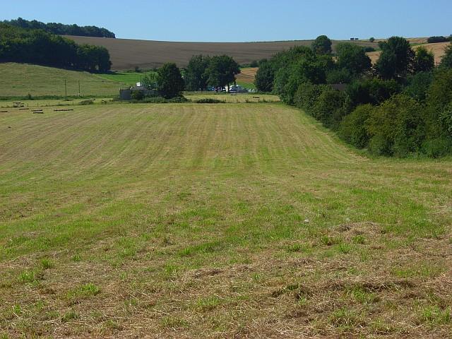 Farmland, Lopcombe Corner