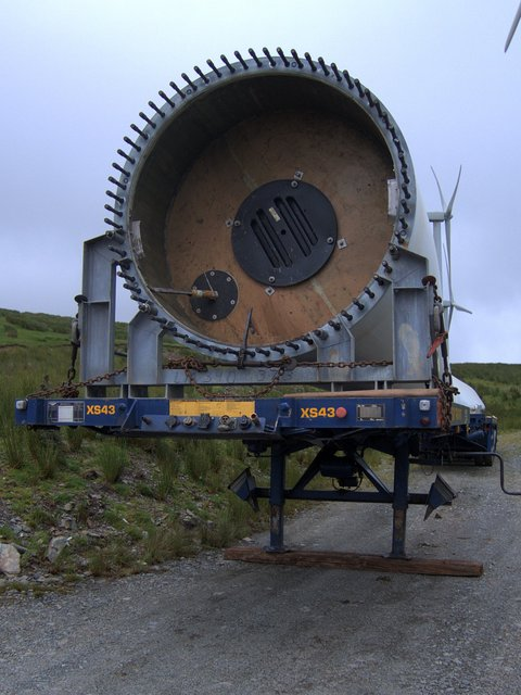 Shaft end of a wind turbine rotor blade