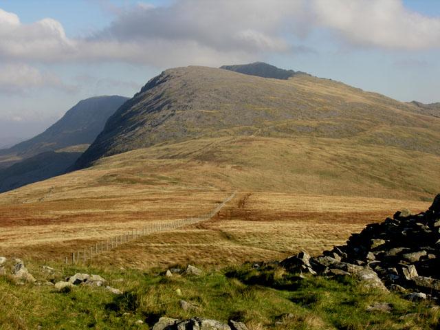 View east from Carnedd Lŵyd
