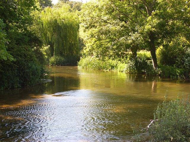 The River Avon, Stratford sub Castle