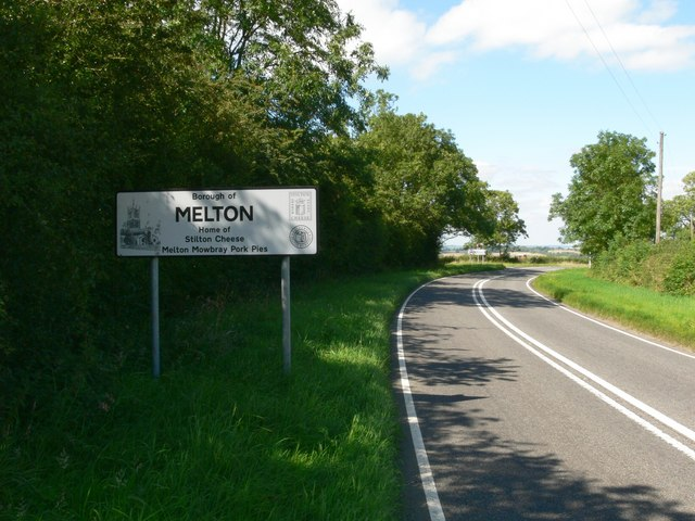 Entering the Borough of Melton