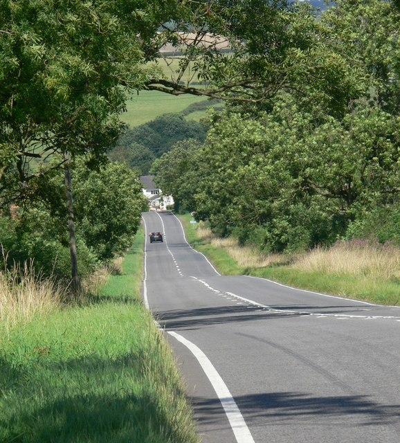 Approaching Twyford