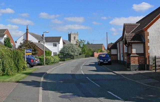 View along Main Street, Twyford