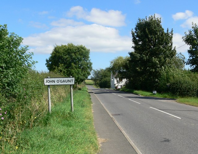 Burrough Road, John O'Gaunt