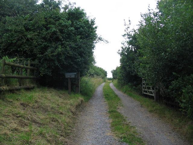Lane to Cooks Farm