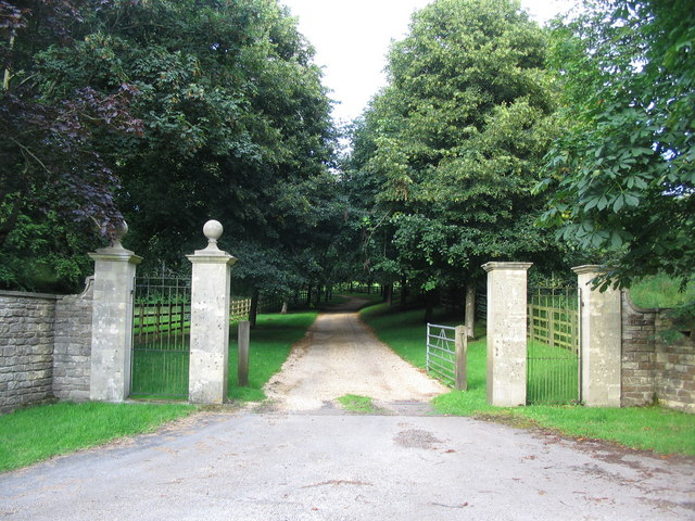 Entrance to Whaddon House