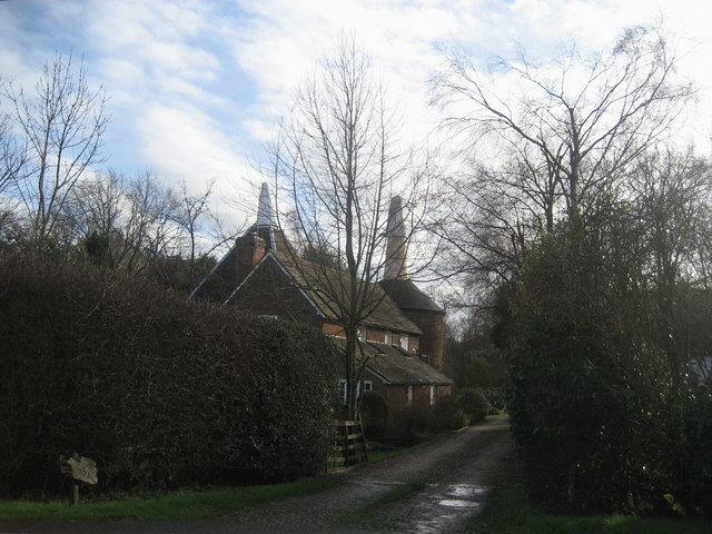The Slade Oasts, The Slade, Lamberhurst, Kent