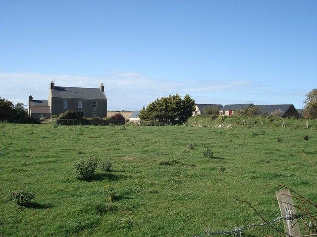 Trenewydd Fawr farmhouse