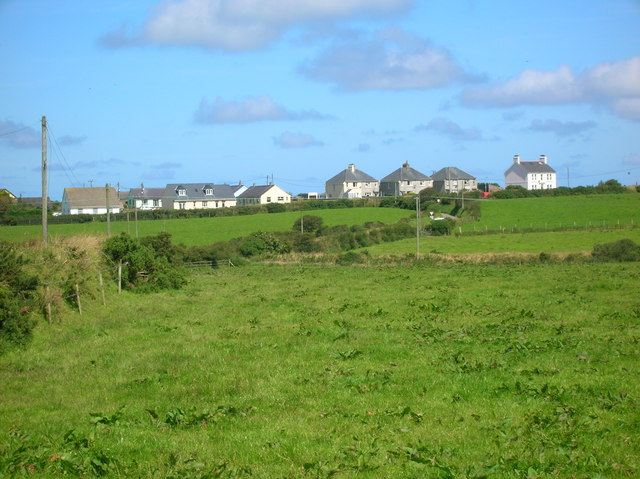 Houses on the Fishguard Road
