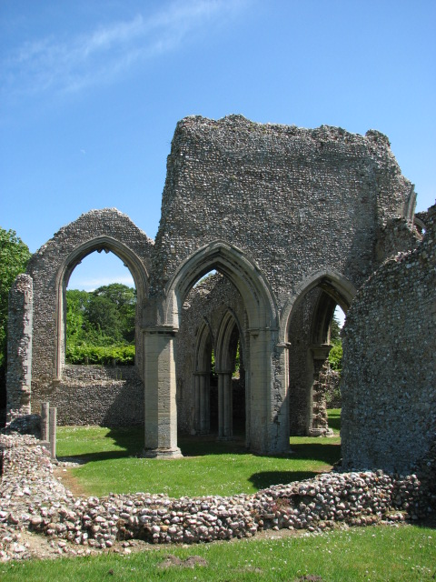Ruins of the Abbey Church of St Mary, North Creake