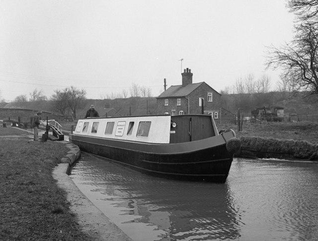 Grindley Brook Bottom Lock, Llangollen Canal