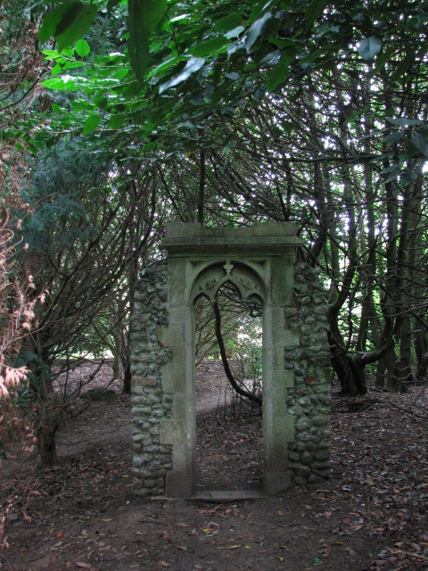 Chapel Garden, Mannington Hall