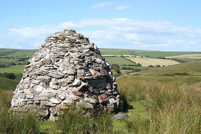 Exmoor: cairn