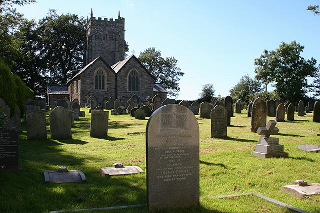 High Bray: All Saints church