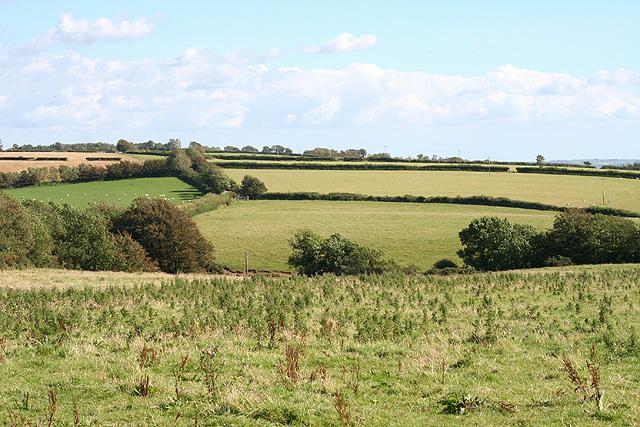 Charles: farmland near Thornpark Cross