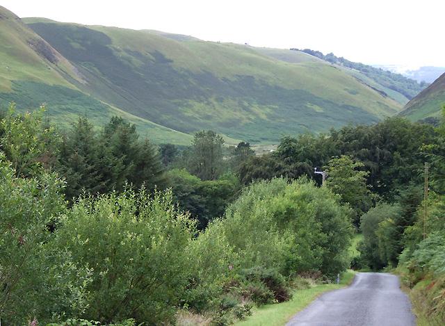 Mountain Road and Cwm Brefi, Ceredigion