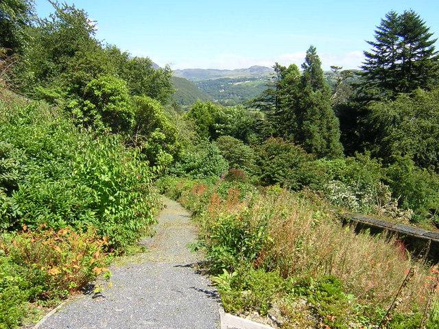 Plas Tan y Bwlch path