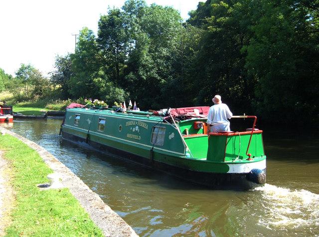 Leeds-Liverpool Canal at Bank Newton