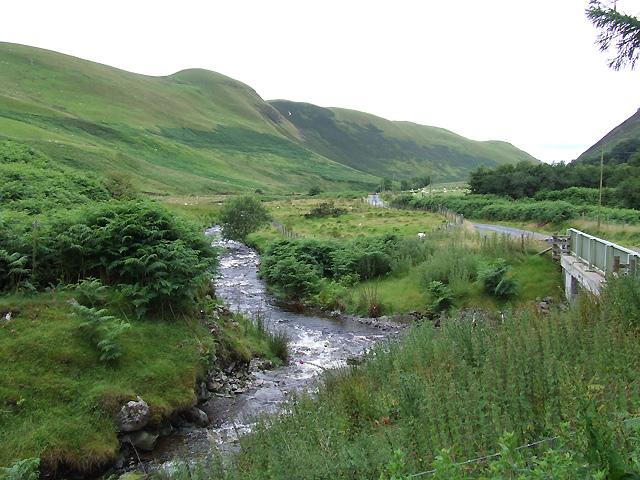 Confluence of Afon Dulas and Afon Brefi, Ceredigion