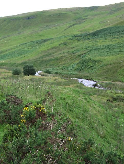 Afon Brefi below Gnwch Mawr, Ceredigion