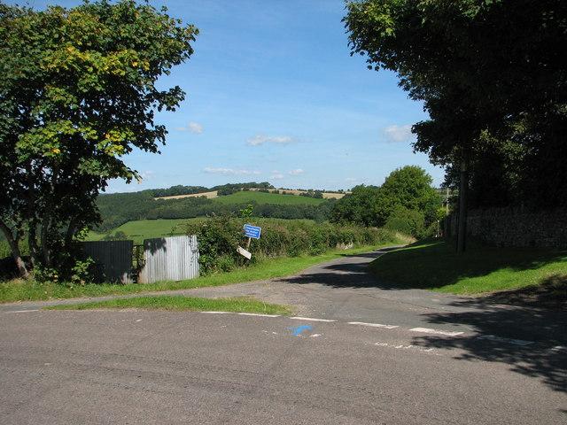 St Briavels - Mork Lane junction