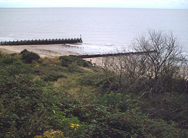 Breakwater from the Cliffs, Walton
