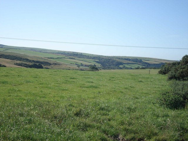 View of Brandy Brook valley from near Tancredston