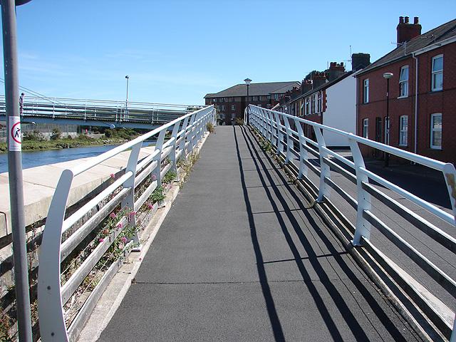Ramp to Pont-yr-Odyn