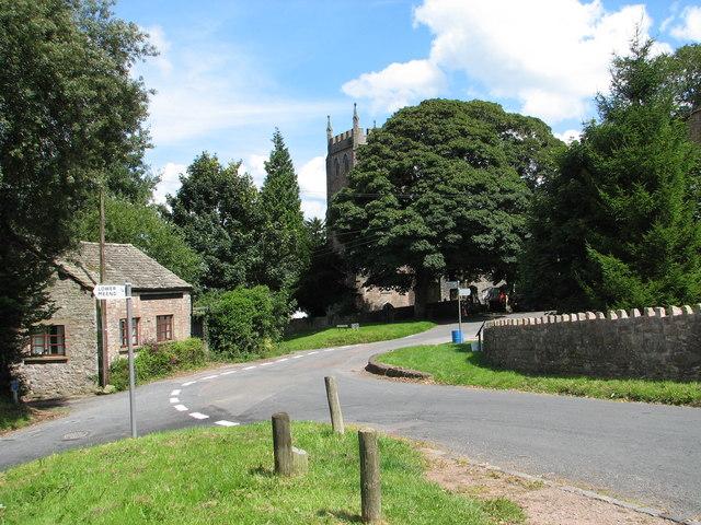 St Briavels - Cinder Hill road junction