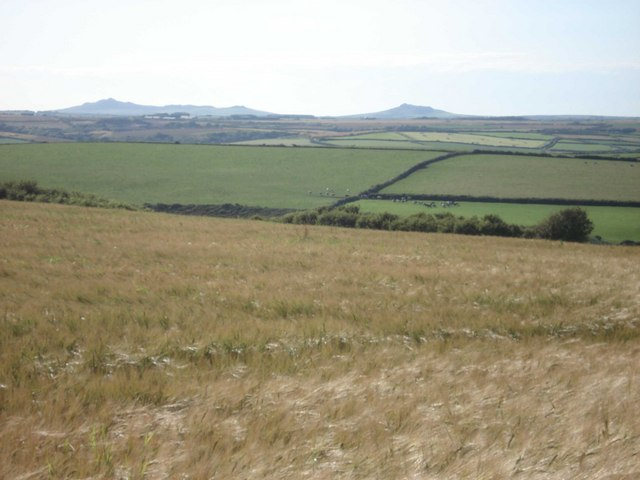 Farmland on Cuffern Mountain