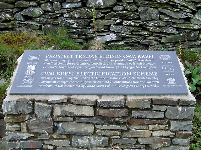 Electricity at Last!! Cwm Brefi, Ceredigion