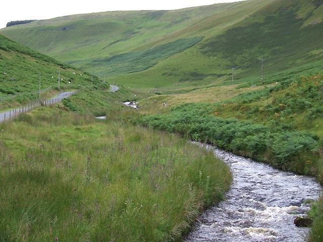 Afon Brefi below Craig Ifan, Ceredigion