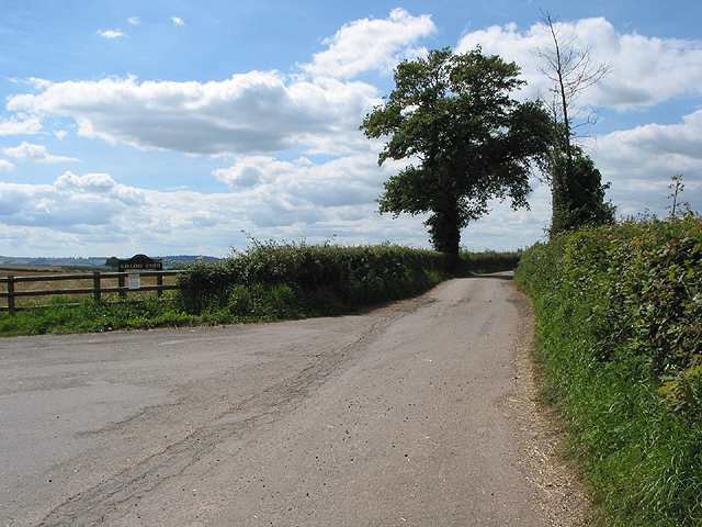 Entrance to Gillow Farm