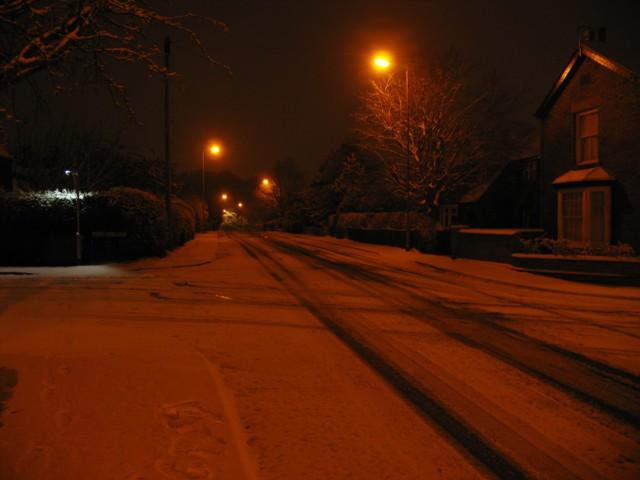 Sandy Lane looking towards Ankle Hill/Warwick Road