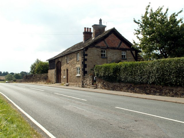 Ivy Cottage on the A635 at Cawthorne